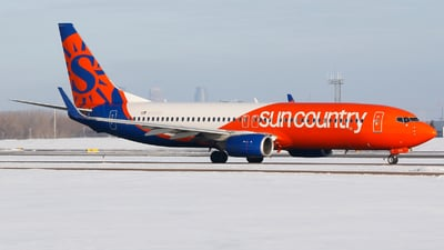 N833SY - Boeing 737-8KN - Sun Country Airlines
