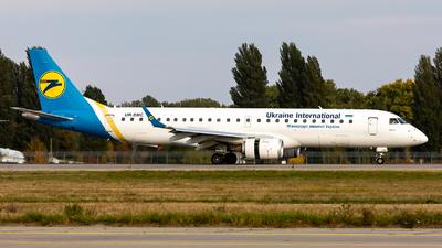 UR-EMC - Embraer 190-100LR - Ukraine International Airlines