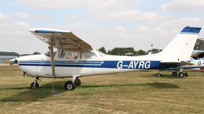 G-AYRG - Reims-Cessna F172H Skyhawk - Private