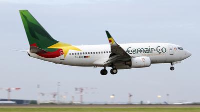 A picture of TJQCB - Boeing 7377BD - CamairCo - © Stian Haabeth