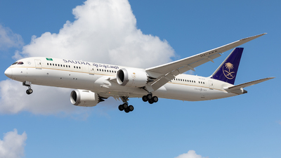 A picture of HZARA - Boeing 7879 Dreamliner - Saudia - © Robert Smith