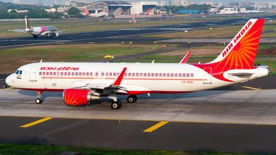 VT-EXD - Airbus A320-214 - Air India