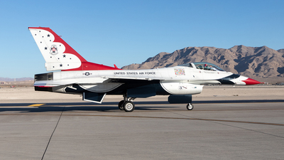 91-0392 - General Dynamics F-16CJ Fighting Falcon - United States - US Air Force (USAF)