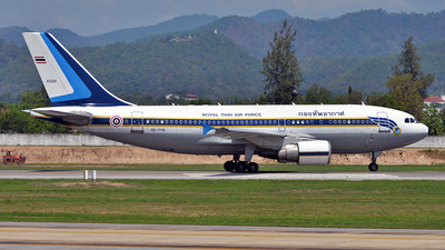 L13-1/34 - Airbus A310-324 - Thailand - Royal Thai Air Force