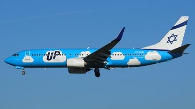 4X-EKM - Boeing 737-804 - Up