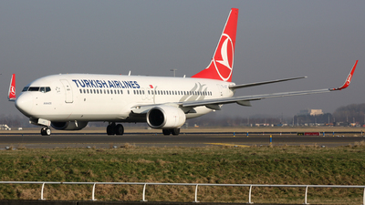 TC-JGT - Boeing 737-8F2 - Turkish Airlines