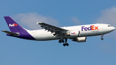 A picture of N657FE - Airbus A300F4605R - FedEx - © Marius Mazzeo