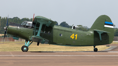 41 - Antonov An-2 - Estonia - Air Force