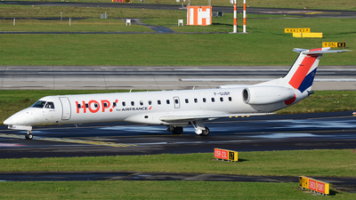 F-GUBF - Embraer ERJ-145MP - HOP! for Air France