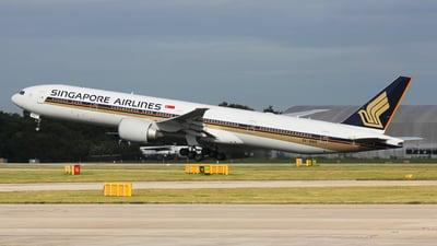 9V-SWS - Boeing 777-312ER - Singapore Airlines