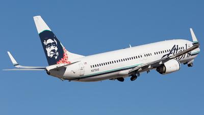 N579AS - Boeing 737-890 - Alaska Airlines
