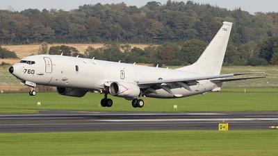 168760 - Boeing P-8A Poseidon - United States - US Navy (USN)