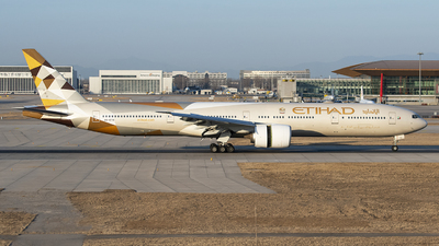 A picture of A6ETB - Boeing 7773FX(ER) - Etihad Airways - © 1219qiuda