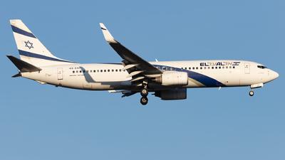 A picture of 4XEKI - Boeing 73786N - El Al - © Arne P.