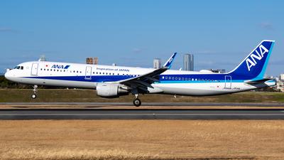 JA114A - Airbus A321-211 - All Nippon Airways (ANA)