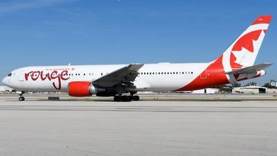 C-GHLA - Boeing 767-35H(ER) - Air Canada Rouge