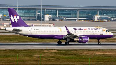 B-8421 - Airbus A320-214 - West Air