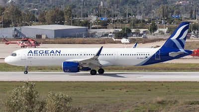 SX-NAA - Airbus A321-271NX - Aegean Airlines