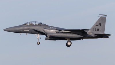 91-0331 - McDonnell Douglas F-15E Strike Eagle - United States - US Air Force (USAF)