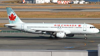 C-FKCR - Airbus A320-211 - Air Canada