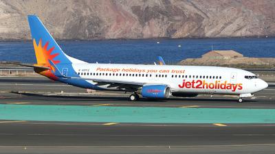 A picture of GGDFZ - Boeing 73786Q - Jet2 - © Vincent de Koning