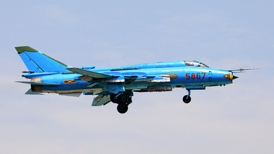 5867 - Sukhoi Su-22M4 Fitter K - Vietnam - Air Force