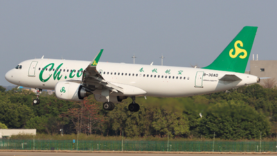 A picture of B30AD - Airbus A320251N - Spring Airlines - © Eason Chen