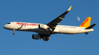 A picture of TCRBD - Airbus A321251NX - Pegasus Airlines - © MBekir CKMK