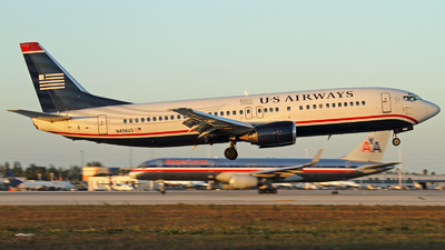 N406US - Boeing 737-401 - US Airways