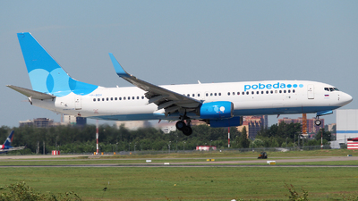 A picture of VPBOH - Boeing 7378LJ - Pobeda - © Mikhail Tkachuk