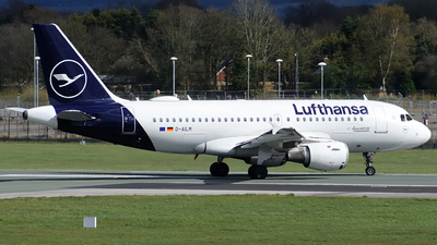 A picture of DAILM - Airbus A319114 - Lufthansa - © Paul Y. M. Chow - AHKGAP