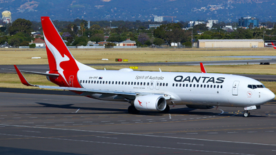 A picture of VHVYF - Boeing 737838 - Qantas - © Robbie Mathieson