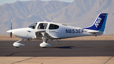 N853EF - Cirrus SR20-G6 - European Flight Academy