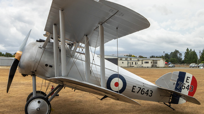 ZK-SBY - Sopwith 7F.1 Snipe - Private