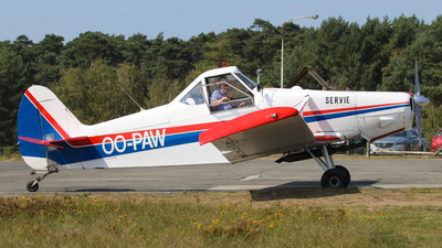 OO-PAW - Piper PA-25-235 Pawnee C - Private