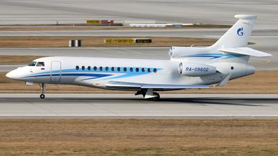 RA-09602 - Dassault Falcon 7X - Gazpromavia