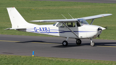 G-AXBJ - Reims-Cessna F172H Skyhawk - Private