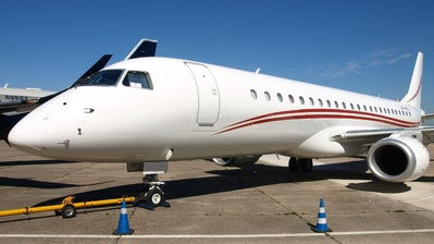 A6-HHS - Embraer 190 Lineage 1000 - Falcon Aviation Services