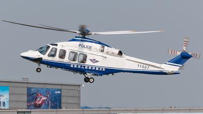 11007 - Agusta-Westland AW-139 - China - Police