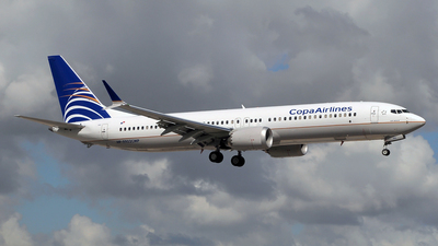 A picture of HP9902CMP - Boeing 737 MAX 9 - Copa Airlines - © Paul Denton