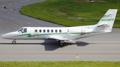 N508KD - Cessna 560 Citation Encore - Private