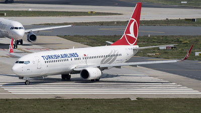 TC-JHD - Boeing 737-8F2 - Turkish Airlines