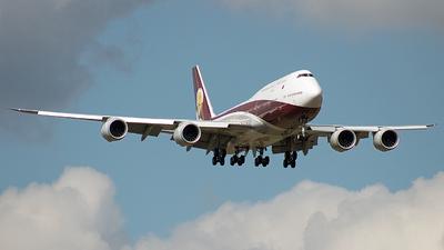 VQ-BSK - Boeing 747-8ZV(BBJ) - WorldWide Aircraft Bermuda
