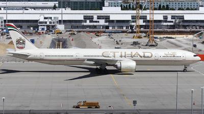 A picture of A6ETI - Boeing 7773FX(ER) - Etihad Airways - © Domi Einert