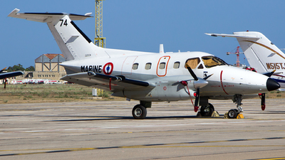 74 - Embraer EMB-121AN Xingú - France - Navy