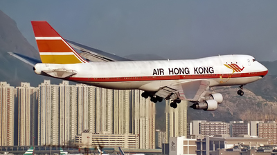 VR-HKN - Boeing 747-132(SF) - Air Hong Kong
