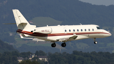 4X-CLL - Gulfstream G200 - Private