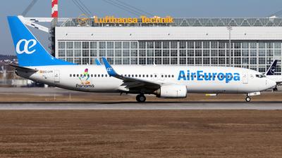 A picture of ECLYR - Boeing 73785P - Air Europa - © Eddie Heisterkamp