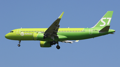 A picture of VQBRA - Airbus A320271N - S7 Airlines - © BizavMen