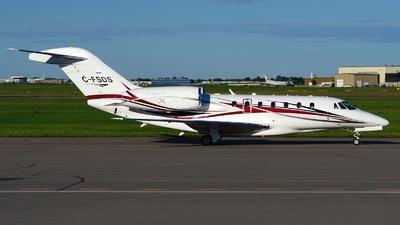 C-FSDS - Cessna 750 Citation X - Private